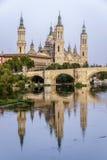 Catedral Basilica de Nuestra Pilar, Zaragoza Royalty Free Stock Photo