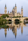 Catedral Basilica de Nuestra Pilar, Zaragoza Royalty Free Stock Photo