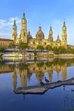 Catedral Basilica del Pilar, Zaragoza Spain Royalty Free Stock Images