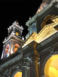Catedral Basilica Salta stock image