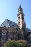 Catedral - Bolzano/Bozen, Tirol sul, Italy Imagens de Stock