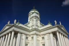 Catedral branca Fotos de Stock