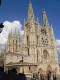 Catedral Burgos (Spanien) Royaltyfri Foto