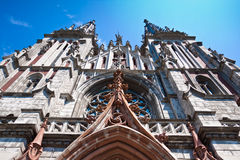 Catedral católica Fotografía de archivo
