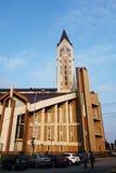 Catedral católica Fotografía de archivo libre de regalías