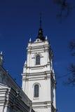 Catedral católica em Ludza fotos de stock