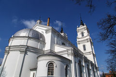 Catedral católica em Ludza foto de stock royalty free