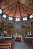 Catedral católica en Castries, Santa Lucía imagen de archivo libre de regalías