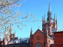 Catedral católica Moscou Fotografia de Stock