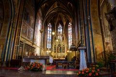 Catedral católica para dentro Foto de Stock
