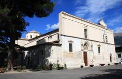 Catedral católica, Sulmona, Italia Imágenes de archivo libres de regalías