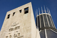 Catedral católica de Liverpool - Inglaterra Imagenes de archivo