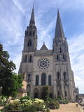 Catedral Chartres fotografia de stock