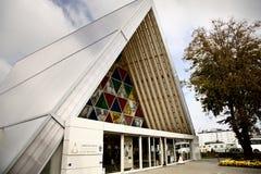Catedral Christchurch do cartão Fotos de Stock