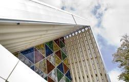 Catedral Christchurch do cartão Fotos de Stock Royalty Free