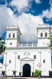 Catedral colonial de Girona por Bucaramanga en Colombia Imagen de archivo