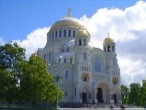 Catedral com uma grande abóbada imagem de stock royalty free