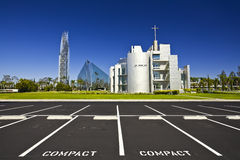 Catedral cristalina Imagen de archivo
