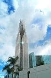 Catedral cristalina Imagen de archivo libre de regalías