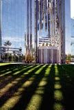 Catedral cristalina en California imagenes de archivo