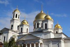 Catedral cristiana Foto de archivo