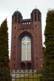 Catedral cruzada santa de la catedral de Krestovozdvizhensky - catedral ortodoxa en Kaliningrado Fotos de archivo