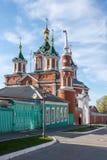 Catedral cruzada santa en Kolomna, región de Rusia, Moscú Fotografía de archivo libre de regalías