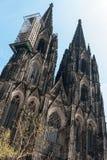 Catedral da água de Colônia, Alemanha Imagem de Stock