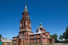 Catedral da ascensão, Ostashkov, região de Tver Fotografia de Stock
