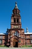 Catedral da ascensão, Ostashkov, região de Tver fotos de stock royalty free