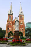 Catedral da basílica de Saigon Notre Dame, Vietnam Imagem de Stock Royalty Free