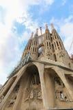 Catedral da catedral de Barcelona - Espanha Imagem de Stock Royalty Free