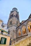 Catedral da cidade de Amalfi Imagem de Stock