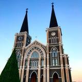 A catedral da concepção imaculada é uma igreja Católica Foto de Stock Royalty Free