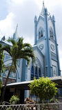 Catedral da concepção imaculada em Puerto Princesa Imagens de Stock