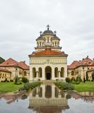 Catedral da coroação em Iulia alba foto de stock royalty free