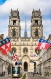 A catedral da cruz santamente de Orlean, Loire Valley, França foto de stock royalty free