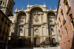 Catedral da encarnação, Granada Imagens de Stock Royalty Free