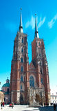 Catedral da estátua do St John The Baptist Imagens de Stock Royalty Free