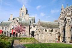 Catedral da igreja de Christ em Dublin imagem de stock royalty free