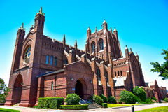 Catedral da igreja de Cristo Foto de Stock Royalty Free