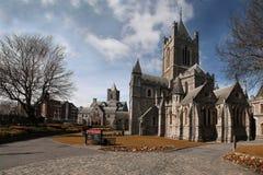 Catedral da igreja de Cristo (trindade santamente) em Dublin, Irlanda Fotografia de Stock