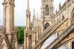 Catedral da igreja de York em York Yorkshire, Inglaterra Foto de Stock