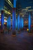 Catedral da instalação dos espelhos pelo artista dinamarquês Mads Christen foto de stock royalty free