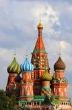 Catedral da manjericão de Saint, Moscovo, Rússia Fotografia de Stock