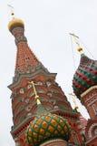 Catedral da manjericão do St, Moscovo, Rússia Foto de Stock