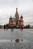 Catedral da manjericão de Saint em Moscovo, Rússia Foto de Stock Royalty Free