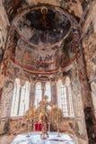 Catedral da metrópole de Mystras Foto de Stock