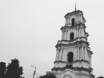 Catedral da natividade da catedral ortodoxo abençoada na região de Kozelets Chernihiv, Ucrânia de Bogoroditsy- Foto de Stock