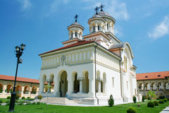 A catedral da reunificação imagem de stock